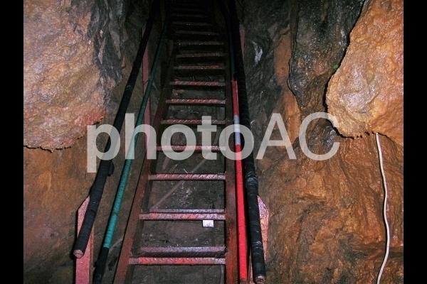 鍾乳洞のはしご.jpg